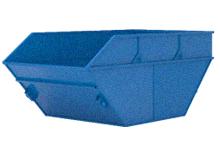 Вывоз мусора контейнером 8 кубов