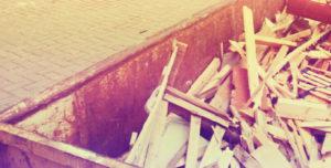 Вывоз мусора контейнером в Мытищах