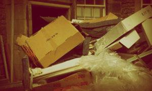 Вывоз мусора с территорий Вялок